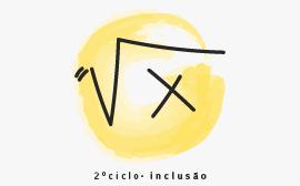 desenho de rais quadrada de x