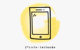 desenho de telemóvel